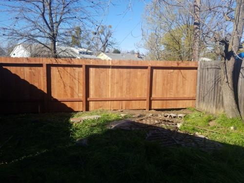 We only use quality material for all of our fence repairs. Material that will last and look great.